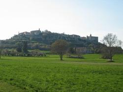 Village de Lussan (Gard)